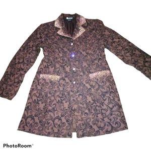 Christine Alexander long rhinestone jacket